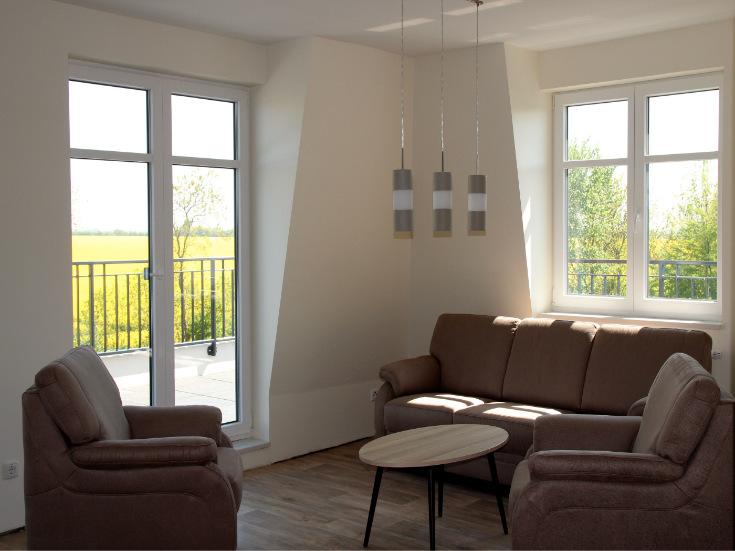 Apartment Sitzecke mit Couch